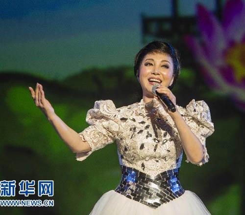 """""""文化中國·四海同春""""洛杉磯北美首演"""