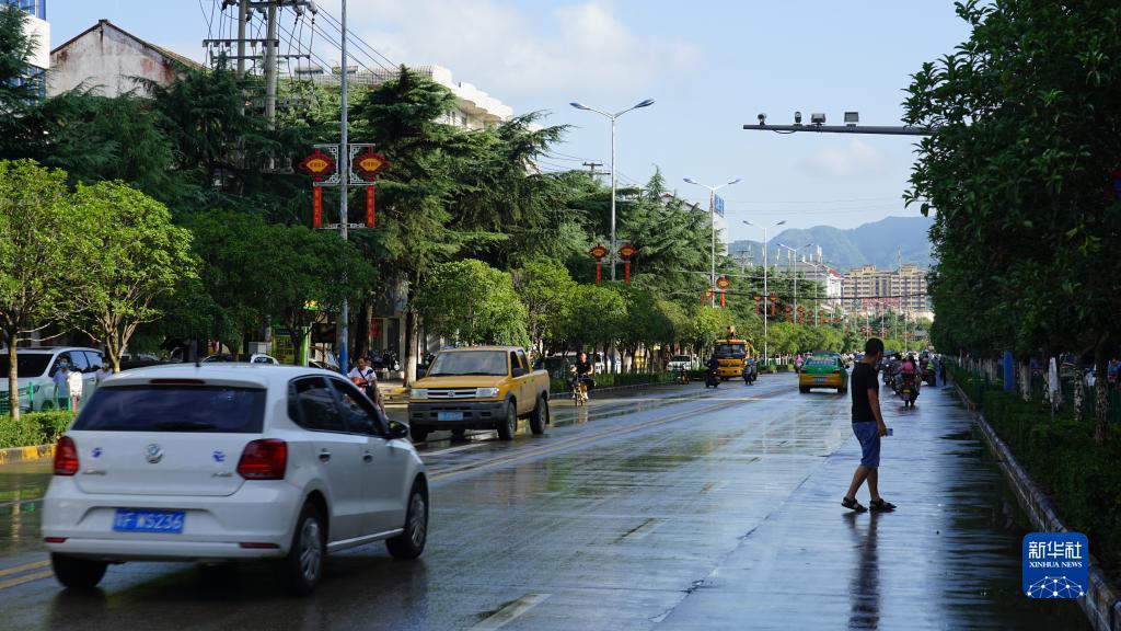 陕西汉中勉县遭受特大暴雨袭击