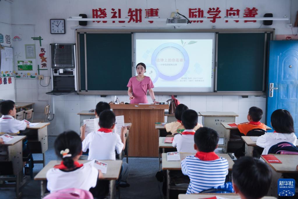 浙江东林镇:普法进校园