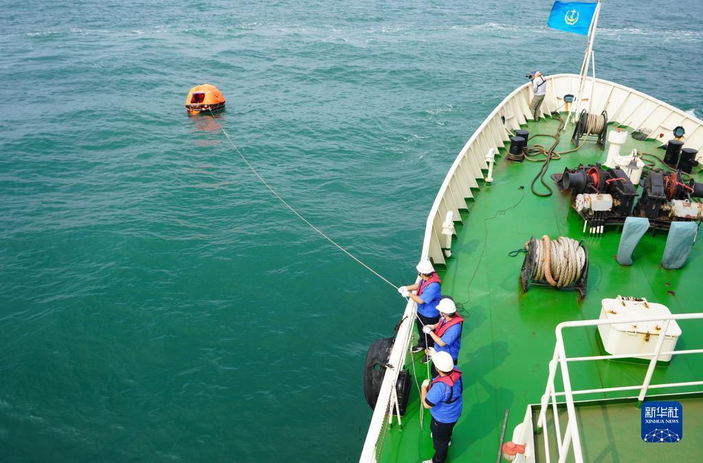 2021年国家海上搜救无脚本实战演练在河北曹妃甸海域举行