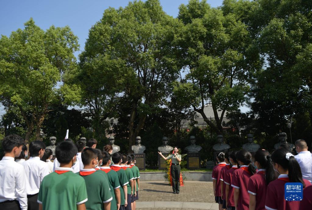 九一八事变爆发90周年纪念日|南昌:缅怀抗战英烈
