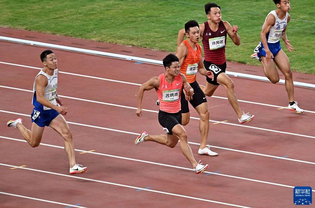 9秒95!苏炳添夺得男子百米冠军