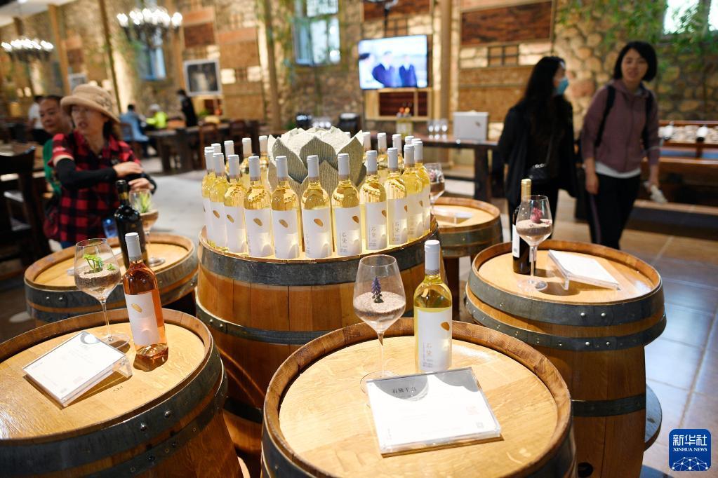 宁夏贺兰山下:美景+美酒 打造葡萄酒新业态
