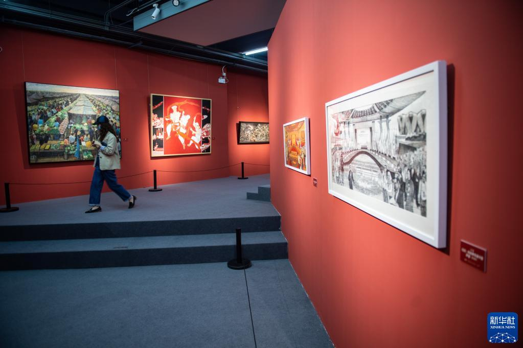 2021北京798艺术节开幕 为期一个月