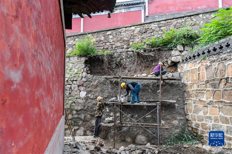 (新华视点·图文互动)(2)1700余处出现险情!山西如何抢救暴雨中受损的文物?