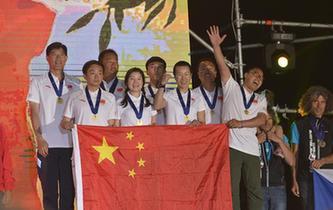 中國隊獲世界滑翔傘定點錦標賽團體冠軍