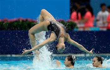 [全運會]花樣遊泳比賽拉開戰幕