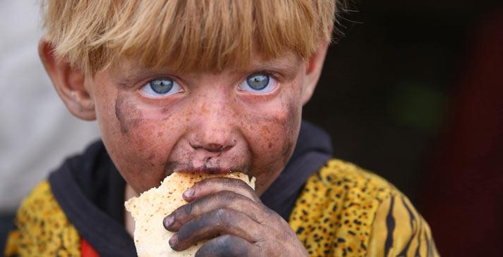 國際難民日:同樣的藍天 不一樣的童年