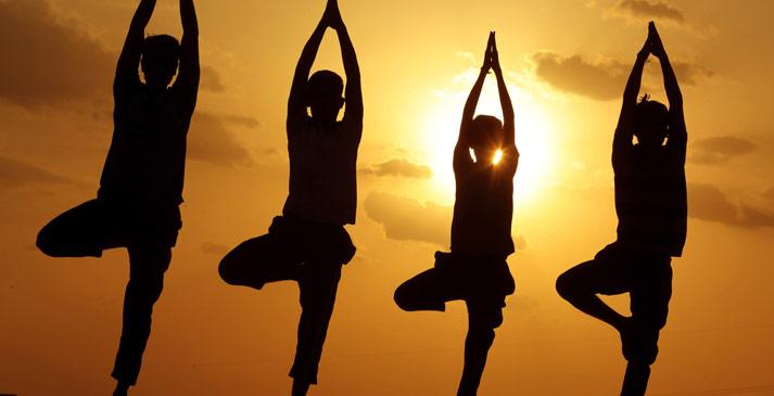 國際瑜伽日特輯:集體瑜伽 感受人與自然和諧之美