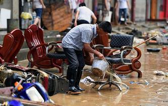 贛北遭遇強降雨