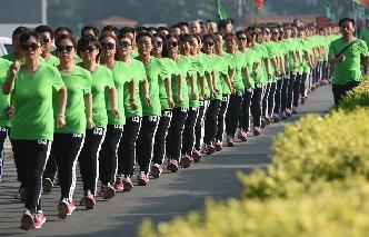 健步走倡導健康生活