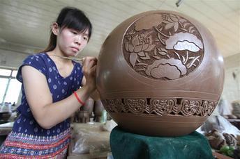 """河北館陶:傳統技藝成為扶貧""""金鑰匙"""""""