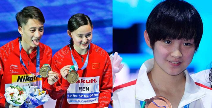 【顯影中國】遊泳世錦賽上的中國身影