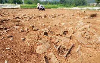 江蘇盱眙考古發現大量跨度千年文物