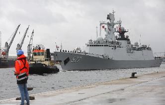 中國海軍第二十六批護航編隊訪問比利時