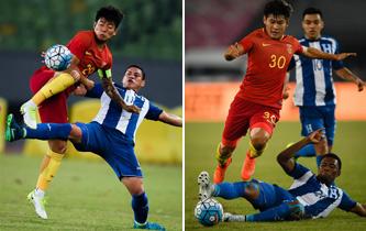國際足球賽:中國2比2戰平洪都拉斯