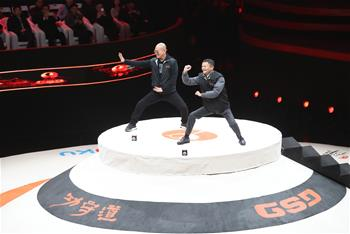 功守道賽事揭幕戰在京舉行