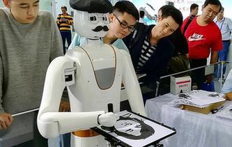 會畫人像的機器人