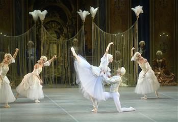 芭蕾舞劇《巴黎的火焰》在京上演