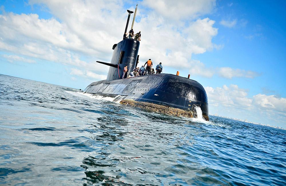 阿根廷海軍一艘載有40人的潛艇失聯