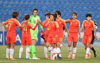 女足亞洲杯:中國隊獲季軍