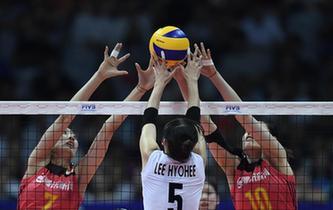 世界排球聯賽:中國女排0:3不敵韓國遭遇新年首敗