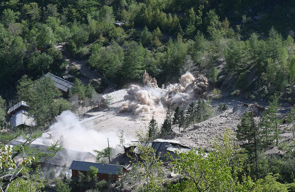 朝鮮廢棄豐溪裏核試驗場