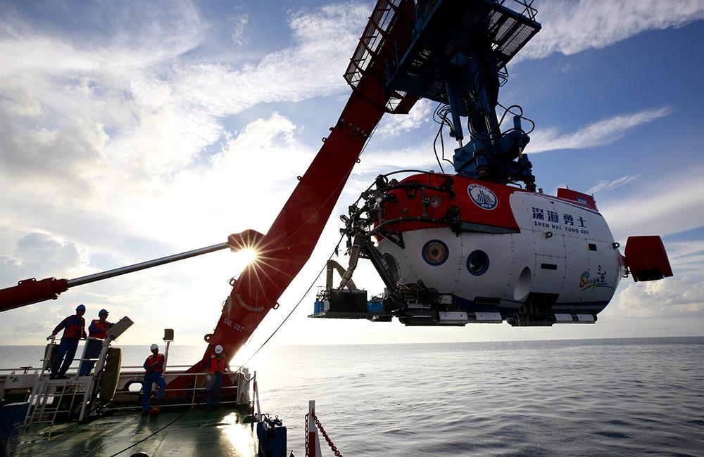 """我國""""南海深部計劃""""西沙深潛航次在南海獲得重要發現"""