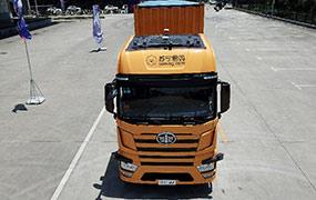 無人駕駛重型卡車路測