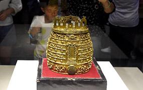 明代鎏金銅編鐘