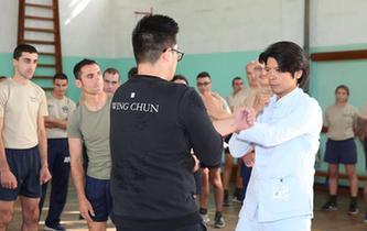 中國咏春拳走進馬耳他武裝部隊