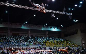 第五屆中國國際馬戲節在澳門舉辦惠民演出