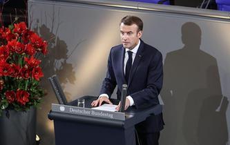 馬克龍呼吁建設一個更加一體化、強大且獨立的歐洲