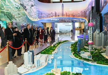 """""""偉大的變革——慶祝改革開放40周年大型展覽""""迎來外賓專場"""