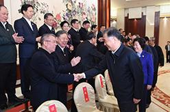 汪洋會見廣西壯族自治區現職副省軍級以上負責同志
