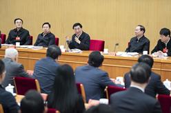 慶祝改革開放40周年理論研討會舉行 王滬寧出席並講話