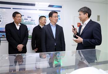 韓正在國家能源局調研