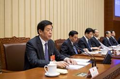 十三屆全國人大二次會議主席團舉行第一次會議