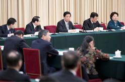 栗戰書參加江西代表團審議