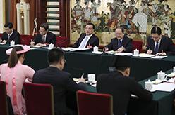 李克強參加廣西代表團審議