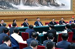 習近平參加甘肅代表團審議