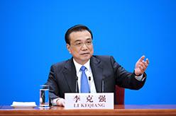 李克強總理會見中外記者