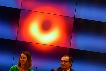 國際·一周看天下:黑洞照片