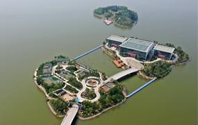 天津:俯瞰南湖·綠博園