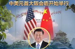 (海報)中美元首大阪會晤開始舉行