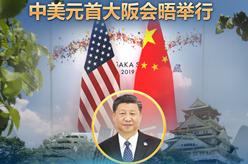 (海報)中美元首大阪會晤舉行