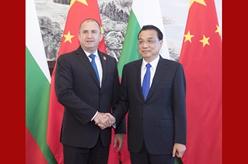 李克強會見保加利亞總統拉德夫
