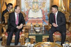 王岐山訪問蒙古國
