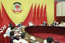 汪洋主持召開全國政協第二十三次主席會議