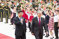 習近平同哈薩克斯坦總統托卡耶夫舉行會談
